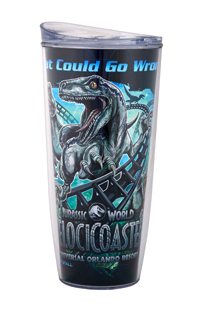 Jurassic World VelociCoaster Coca-Cola Freestyle Tumbler