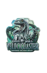 Jurassic World VelociCoaster Pin