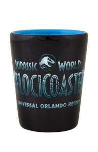 Jurassic World VelociCoaster Shot Glass