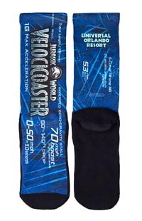 Jurassic World VelociCoaster Socks