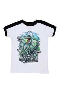 Jurassic World VelociCoaster Youth T-Shirt