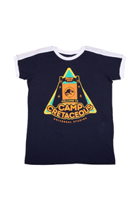 """Jurassic World """"Welcome To Camp Cretaceous"""" Youth T-Shirt"""
