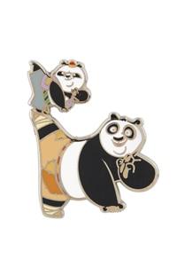 Kung Fu Panda Po and Bao Pin