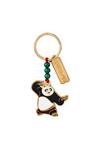 Kung Fu Panda Po Beaded Keychain