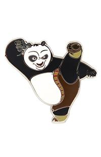 Kung Fu Panda Po Kicking Pin