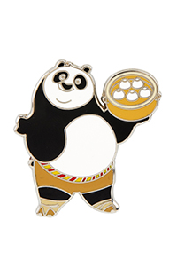 Kung Fu Panda Po with Dim Sum Pin