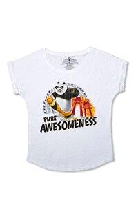 """Kung Fu Panda """"Pure Awesomeness"""" Ladies T-Shirt"""