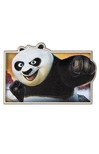 Kung Fu Panda Sculpted Pin