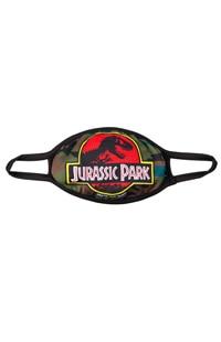 Large Jurassic Park Logo Cloth Face Mask