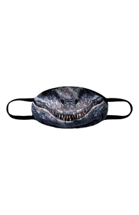 Large Jurassic World Raptor Cloth Face Mask