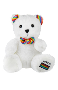 Love is Universal Bear Plush