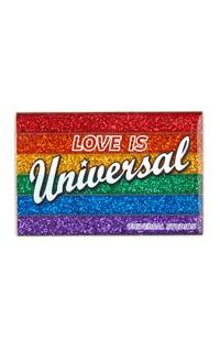 Love is Universal Retro Pin