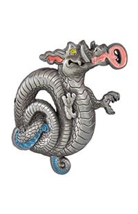 Magical Menagerie Dragon Pin