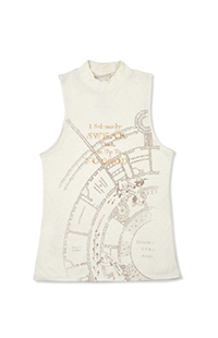 Marauder's Map Color Changing Ladies Tank