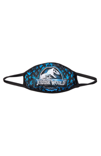 Medium Jurassic World Logo Cloth Face Mask