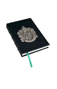 Slytherin Metal Crest Journal