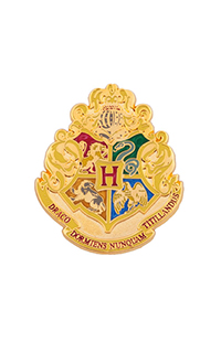 Large Hogwarts Crest Pin