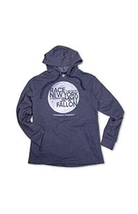 Race Through New York Adult Hooded Sweatshirt