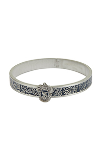 Ravenclaw™ Crest Bangle Bracelet