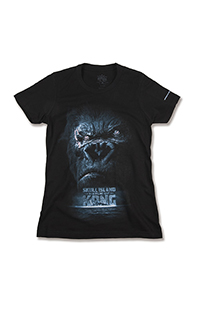 Reign of Kong Face Ladies T-Shirt
