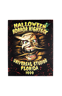 "Retro ""Halloween Horror Nights IX 1999"" Mummy Poster"