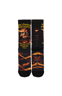 "Retro ""Halloween Horror Nights IX 1999"" Mummy Socks"