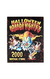 "Retro ""Halloween Horror Nights X 2000"" Jack Poster"