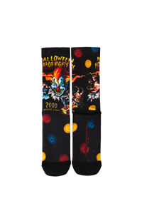 "Retro ""Halloween Horror Nights X 2000"" Jack Socks"