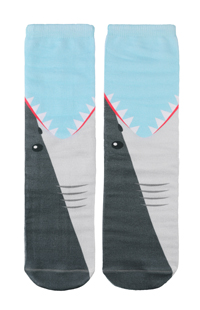 Shark Bite Adult Crew Socks