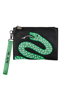 Slytherin™ Wristlet Pouch by Danielle Nicole