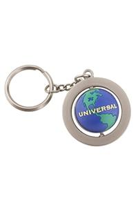 Universal Studios Globe Spinning Keychain
