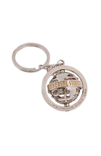 Universal Studios Nickel Spinning Keychain