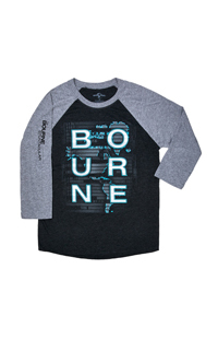 The Bourne Stuntacular Blacklight Reactive Adult T-Shirt