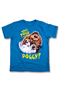 The Secret Life of Pets Who's Your Doggy Youth T-Shirt