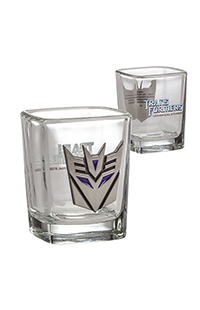 Transformers Decepticons Shot Glass