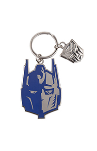 Transformers Optimus Prime Split Face Keychain