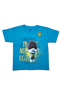 "Trolls ""I'm Not a Hugger"" Glow-In-The-Dark Youth T-Shirt"