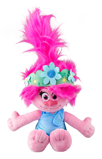 Trolls Queen Poppy Plush