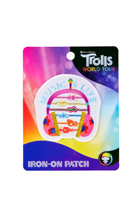 "Trolls World Tour ""Music is Life"" Iron-On Patch"