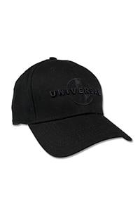 Universal Logo Adult Black Cap