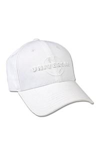 Universal Logo Adult White Cap