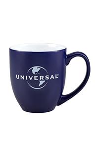 Universal Logo Etched Bistro Mug