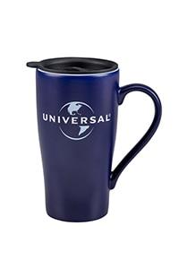 Universal Logo Etched Travel Mug