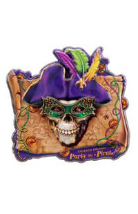 "Universal Orlando Mardi Gras ""Party Like A Pirate"" Pin"