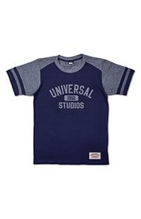 Universal Studios 1912 Adult Striped Sleeves T-Shirt