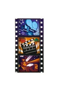 Universal Studios 3 Panel Filmstrip Magnet