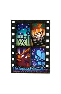Universal Studios 4 Panel Filmstrip Magnet
