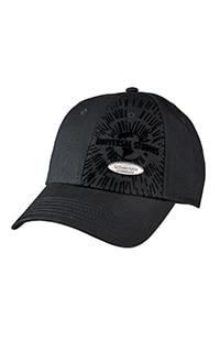Universal Studios Black Flock Logo Adult Cap