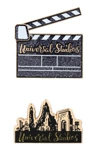 Universal Studios Clapboard & Skyline Magnet Set
