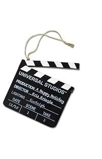Universal Studios Clapboard Ornament